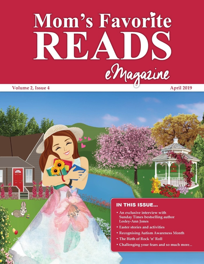 Mom's Favorite Reads Emagazine for April2019