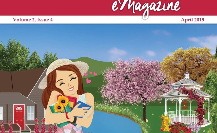 Mom's Favorite Reads Emagazine for April 2019